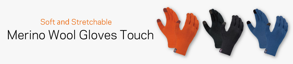 Merino Wool Gloves Touch